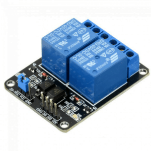 2 Channel 5V Relay Module With Optocoupler Protection