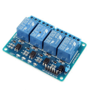 5V/3.3V Four Channel 10A Isolated Relay Module