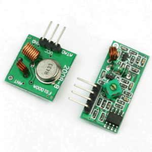 433mHz RF Transmitter and Receiver Radio Module